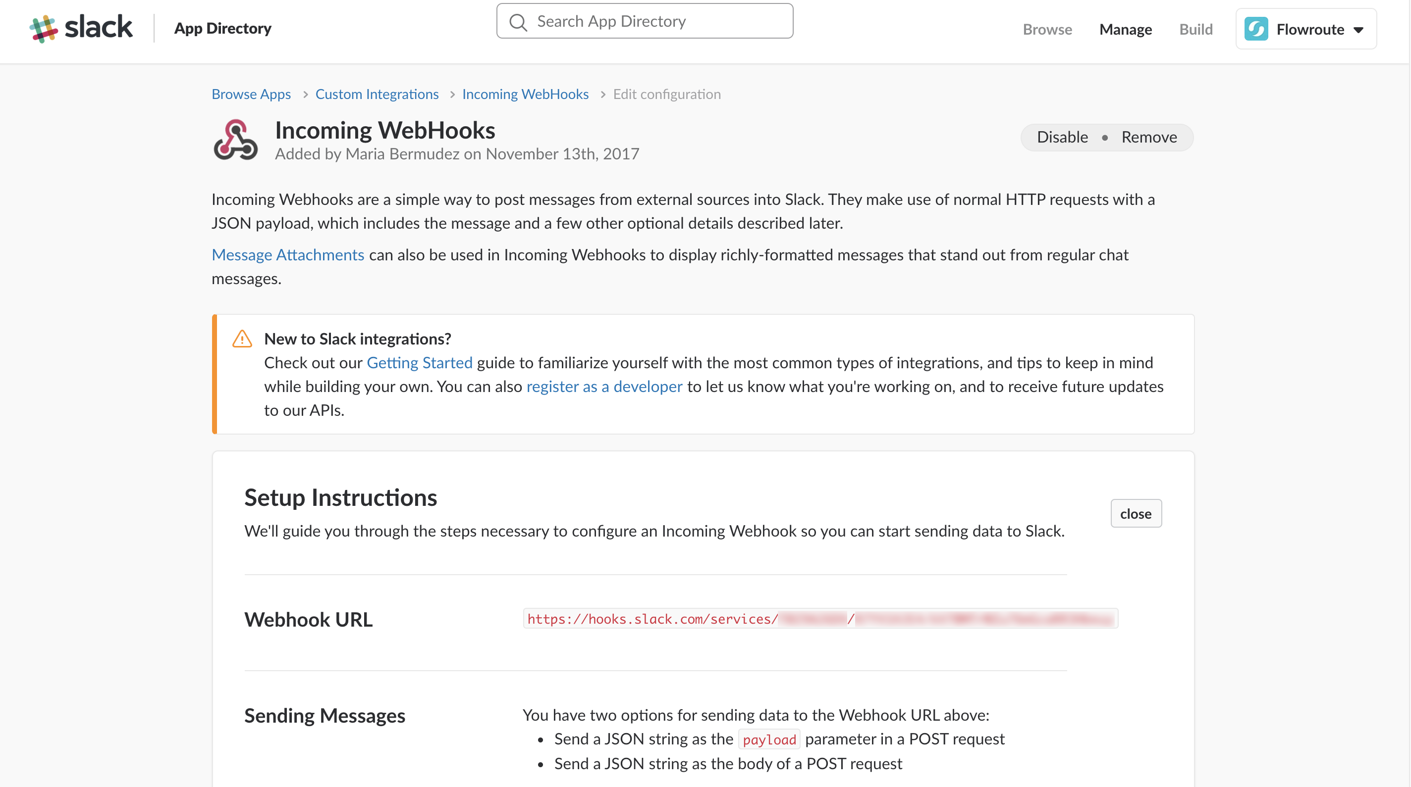 Post Incoming Messages to Slack using the Serverless Framework
